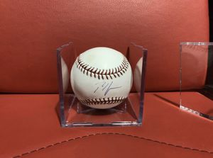Baseball Signed Cubs - Rich Harden with Certificate of Authenticity MLB and Tristar for Sale in Hacienda Heights, CA
