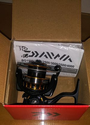 Daiwa BG Black Gold Fishing Spinning Reel for Sale in Seattle, WA
