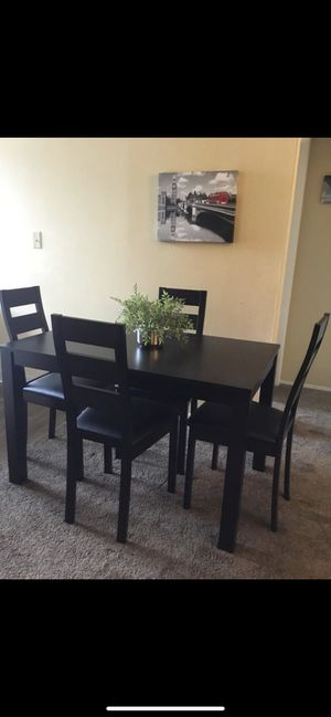 Special Dining Set ( table and 4 chairs wood new ) ⭐️👍 for Sale in San Diego, CA