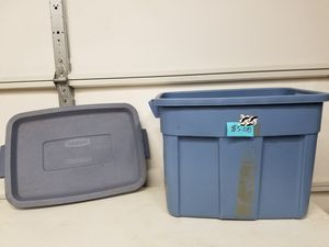 Rubber made rough neck storage container for Sale in Fort Worth, TX