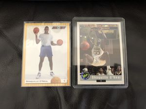 Shaq rookie cards for Sale in Gardena, CA