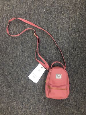 NWT Herschel NOVA MINI Crossbody Purse Bag Rose Pink for Sale in Diamond Bar, CA