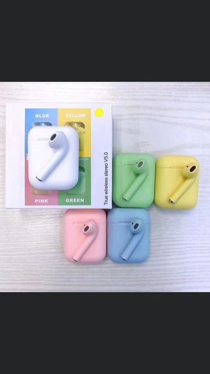 Wireless Earbuds Bluetooth Headphones pop up window for iPhone IOS or Android Smart Phones Wireless Bluetooth Headphones Earbuds with pop up window for Sale in Richmond, TX