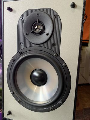 BETTER THAN POLK AUDIO—Paradigm Mini Monitor's—pair—excellent shape. for Sale in Portland, OR
