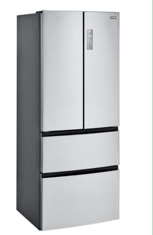 Refrigerator French Door 15 C.U Ft frost free Refrigerador Nevera Stainless Steel Acero Inoxidable for Sale in Miami, FL