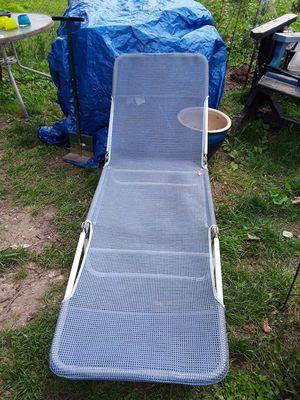 Long folding sling lounger for Sale in Lexington, KY