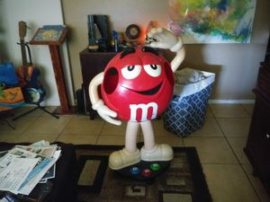 Red M & M Store Display & Sm. Candy dispenser for Sale, used for sale  Phoenix, AZ