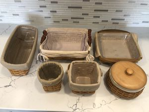 Longaberger baskets for Sale in FL, US