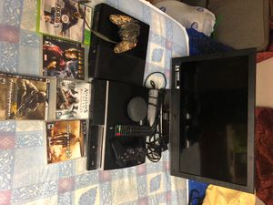 Ps3 Power cable controller and Iron Man call of duty and more games game Xbox 360 E comes with power cord wired controller and FIFA 14 and comes with for Sale in Auburn Hills, MI