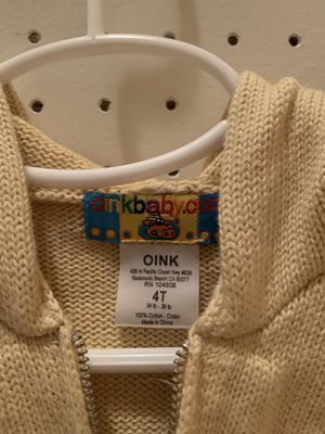 Boys warm tan sweater jacket for Sale in Gig Harbor, WA