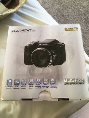bell howell b35hdz camera like brand new $150 for Sale in St. Louis, MO