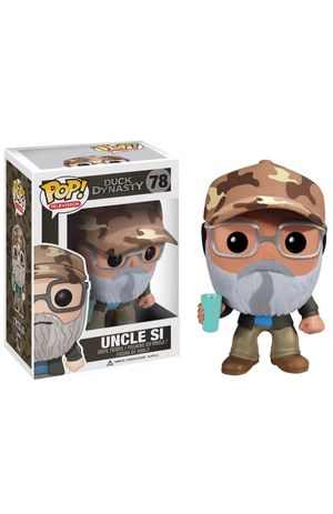 POP Duck Dynasty Uncle Si New in Box + FREE... for Sale in Lodi, CA