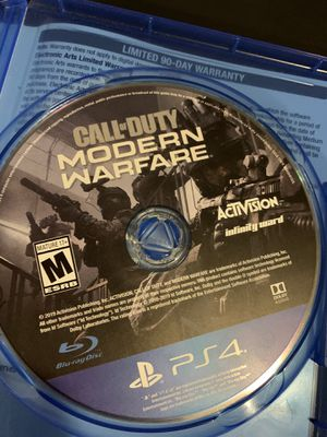 Call of Duty Modern Warfare [PS4 Game] for Sale in Cromwell, CT
