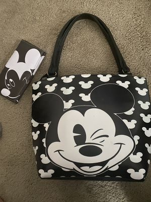 Mickey Mouse Bag and Wallet for Sale in North Chesterfield, VA