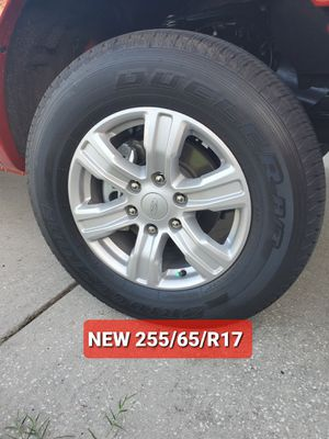 NEW 2020 Ford Ranger XLT Tires/Rims (LESS THAN 300 MILES USED) for Sale in Port Richey, FL