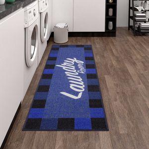 """Blue Laundry Room Runner Rug Carpet 20"""" x 59"""" for Sale in Spring, TX"""