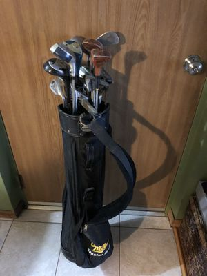 Golf bag and clubs for Sale in Bloomingdale, IL