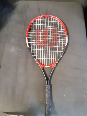 Wilson tennis racket tour 25 titanium for Sale in Columbus, OH