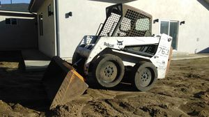 """Bobcat skid steer 763 only 2400 hours SOLID MACHINE with 72"""" bucket + grader for Sale in Los Angeles, CA"""