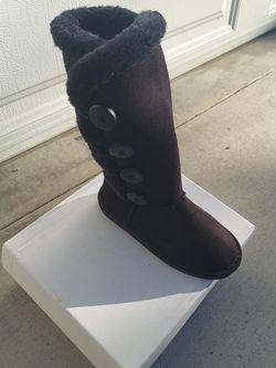 New Black Warm Boots Child for Sale in Glendora,  CA