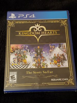 PS4 KINGDOM HEARTS THE STORY SO FAR BRAND NEW SEALED for Sale in Escondido, CA