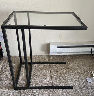 Glass C Table for Sale in Fremont, CA