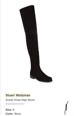 Stuart Weitzman Over-the-knee Suede Boots for Sale in Harrison, NJ