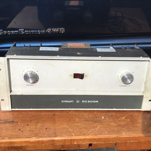 Crown DC 300A for Sale in MD, US