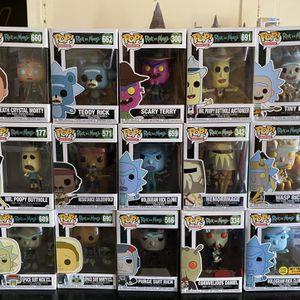 Rick and Morty Funko POPs for Sale in Huntington Park, CA