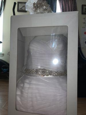 David's bridal Wedding dress size 10 for Sale in Marietta, GA