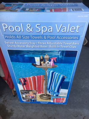 Pool and spa towel holder for Sale in Phoenix, AZ