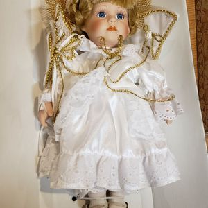 Vintage Porcilain Angle Doll for Sale in Chambersburg, PA