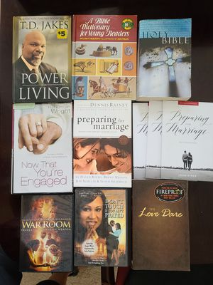Set of Christian books and movies for Sale in San Antonio, TX