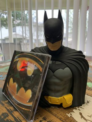 Batman coin bank and Price Batman motion picture soundtrack for Sale in Austin, TX
