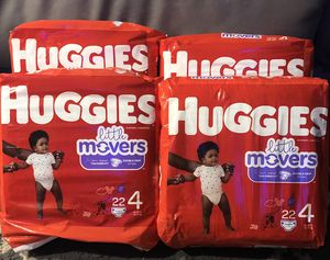 Huggies size 4 little Movers for Sale in West Valley City, UT