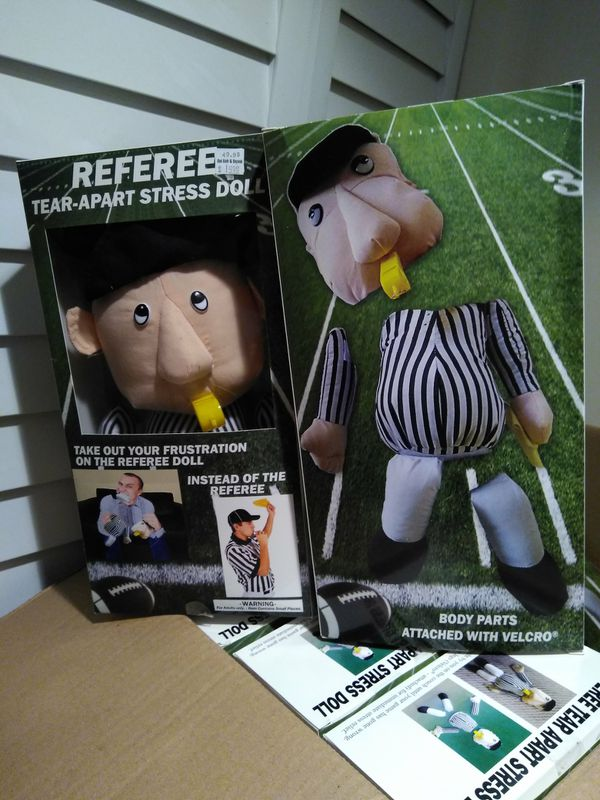 8 Referee Tear Apart Stress Doll For Sale In Chicago Il Offerup
