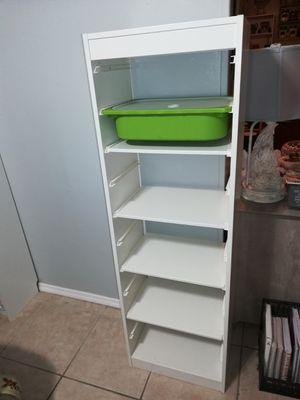 White Storage tower or bookcase for Sale in Orlando, FL
