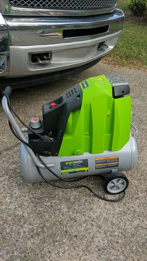 Greenworks air compressor 125 psi 6 gallon for Sale in Murfreesboro, TN