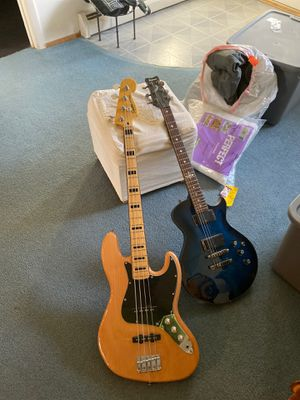 Squire Jazz Bass & Ibanez Art 320 for Sale in Herndon, VA