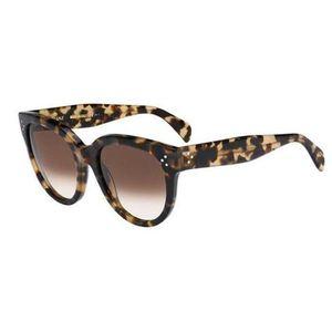 CELINE tortoise shell new Audrey honey brown oversized round sunglasses for Sale in Washington, DC