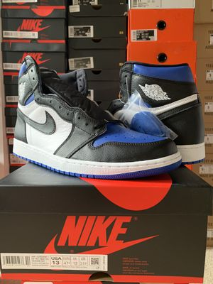 Air Jordan 1 Royal Toe Size 10.5-11-12-13 for Sale in Fairfax, VA