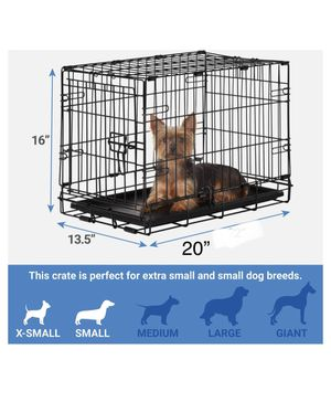 """Pet crate / cage for small dog 20""""x13.5""""x16"""" brand new for Sale in Los Angeles, CA"""