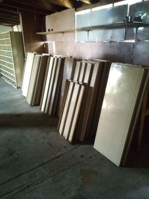 Industrial metal shelving for Sale in Lakewood, WA
