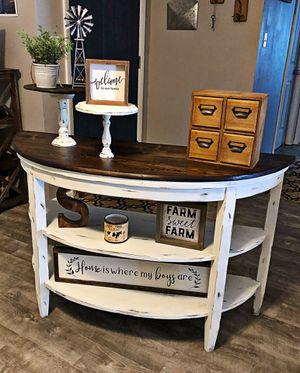 Farmhouse entryway table for Sale in Bartow, FL