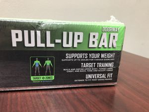 Brand new Pull up bar for in home gym exercise ejercicio strength training for Sale in Miami, FL