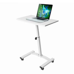 MOBILE LAPTOP COMPUTER DESK CART, WHITE for Sale in Tampa, FL