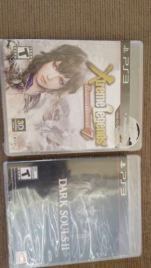 PS3- DARK SOULS II SCHOLAR OF THE 1ST SIN AND XTREME LEGENDS NEW SEALED for Sale in Lakeland, FL