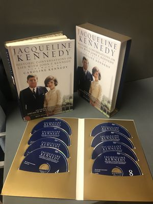 Jacqueline Kennedy book and interviews 8 cds- new for Sale in Murfreesboro, TN