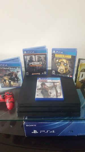 PS4 Pro 1 Tb Bundle Deal for Sale in Pearland, TX