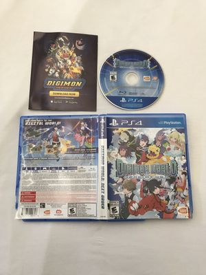 Ps4 Game:Digimon World Next Order Disc Like New for Sale in Reedley, CA
